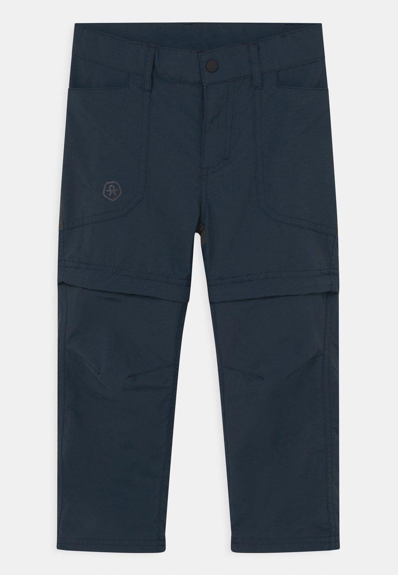 Color Kids - 2-IN-1 ZIP OFF UNISEX - Outdoor trousers - dress blues