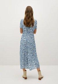 Mango - SHIRTY - Shirt dress - azul - 1