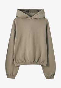 PULL&BEAR - Sweat à capuche - dark brown - 5