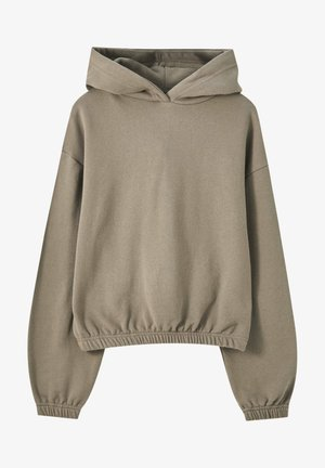 Kapuzenpullover - dark brown
