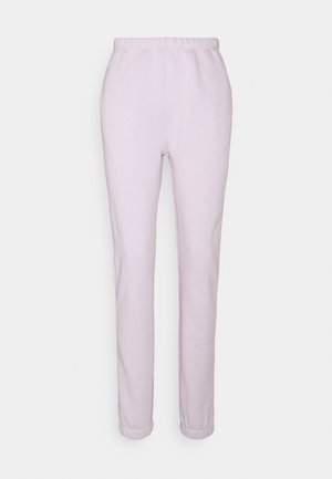 COZY PANTS - Tracksuit bottoms - light purple