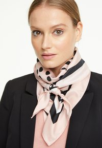 comma - Foulard - rosewood placed print - 0