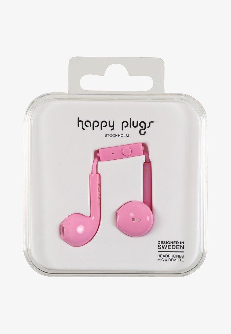 Happy Plugs - PLUS DELUXE - Headphones - pink