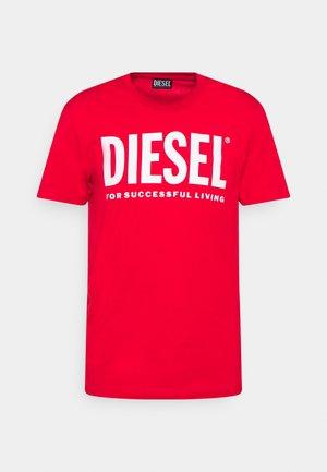 DIEGOS ECOLOGO UNISEX - Print T-shirt - red