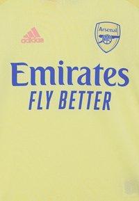 adidas Performance - ARSENAL FC AEROREADY SPORTS FOOTBALL - Club wear - yellow tint - 2