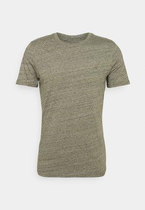 T-shirt - bas - dusty olive
