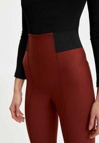 DeFacto - Leggings - Trousers - brown - 4