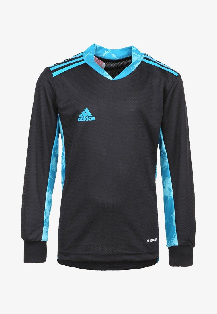 adidas Performance - ADIPRO  - Goalkeeper shirt - black/bold aqua