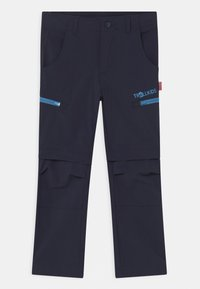 TrollKids - KJERAG ZIP OFF  2-IN-1 UNISEX - Outdoor trousers - navy/medium blue - 1