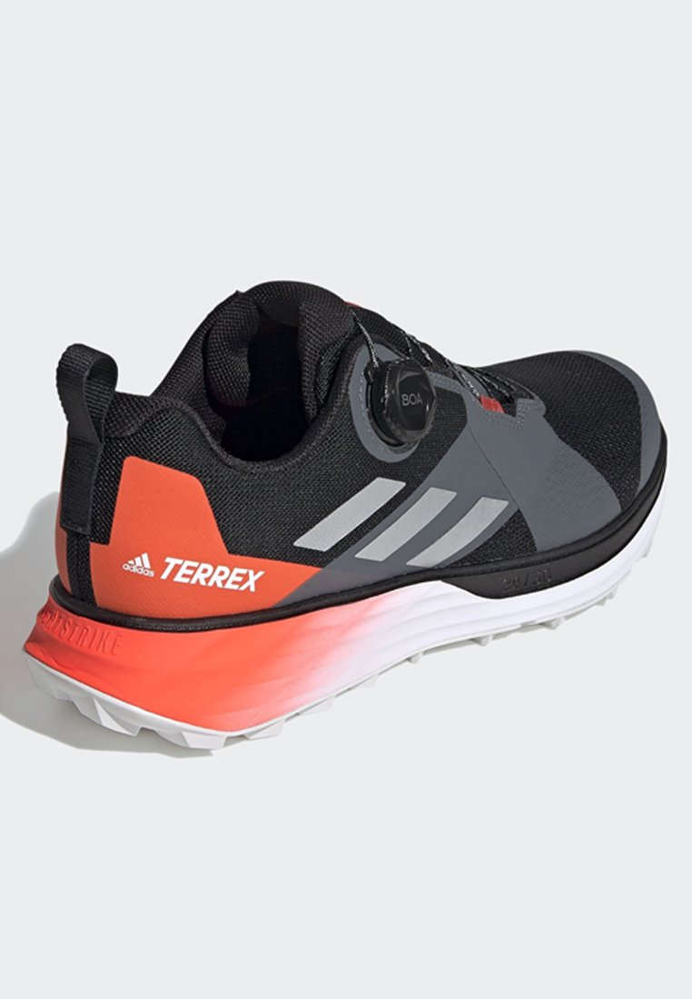 adidas Performance TERREX TWO BOA TRAIL RUNNING SHOES - Løpesko for mark - black