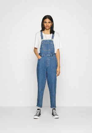 TAPERED OVERALL - Peto - crazy blue