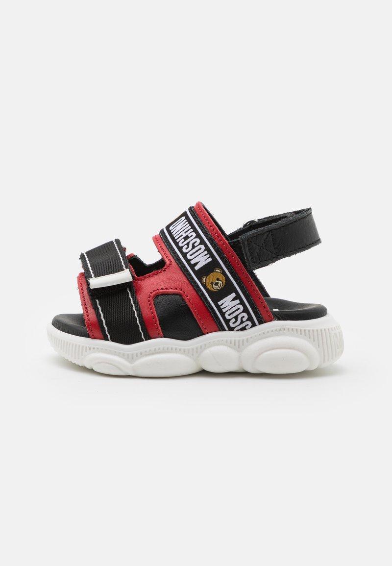 MOSCHINO - UNISEX - Sandals - red/black