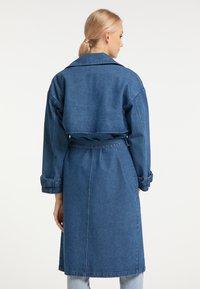 myMo - Trenchcoat - blau denim - 2