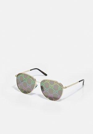 Solglasögon - gold-coloured/multicolor