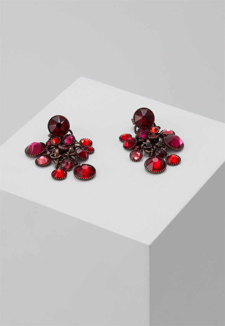 Best Selling 2020 Discount Accessories Konplott WATERFALLS Earrings red/dark rose dark RobL5tZSK c0ckotU6F