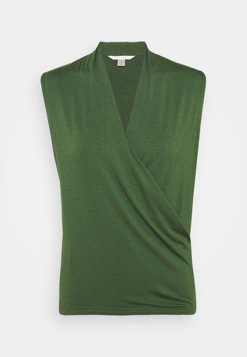 THREADSOFT WRAP - Camiseta estampada - eucalyptas