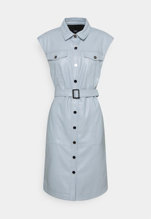 DRESS - Shirt dress - pearl blue