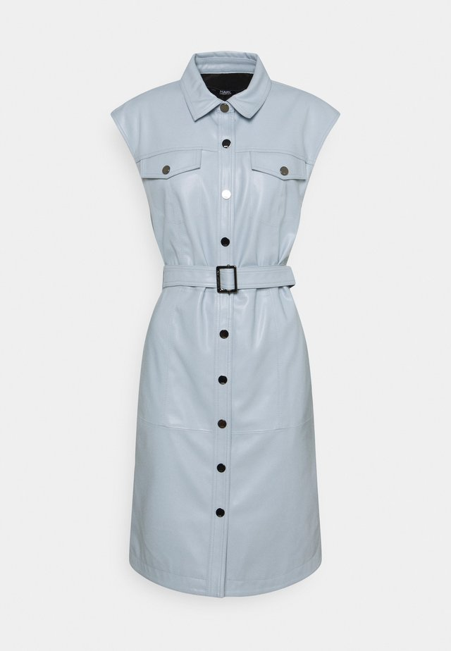 DRESS - Sukienka koszulowa - pearl blue