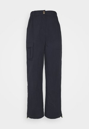 CARGO PANTS - Trousers - dusty navy