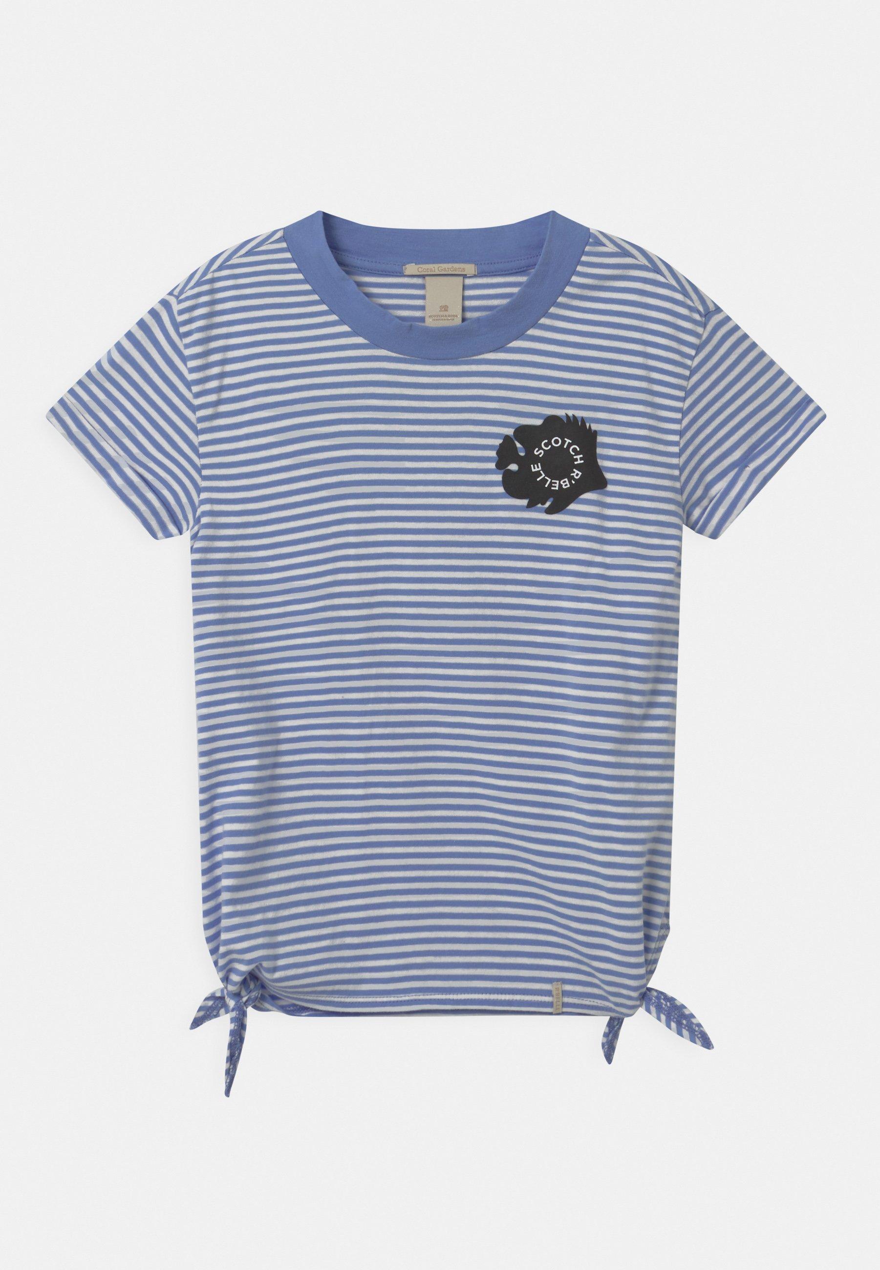 Kids ORGANIC SHORT SLEEVE WITH SIDE KNOTS - Print T-shirt