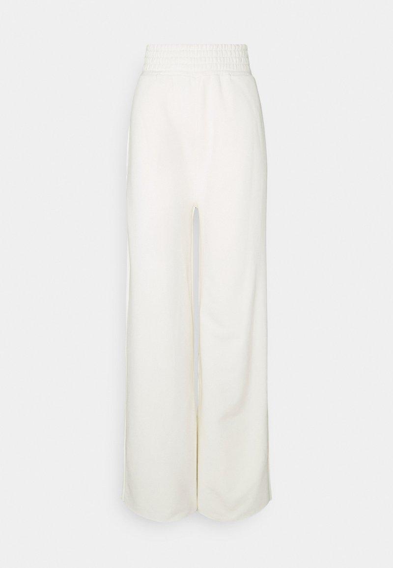 KENDALL + KYLIE - K AND K FLARE HIGH RISE - Teplákové kalhoty - off white