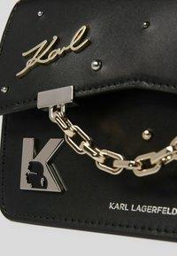 KARL LAGERFELD - SEVEN PINS - Handbag - black - 2