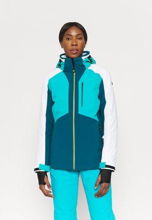 Ski jacket - dunkel türkis