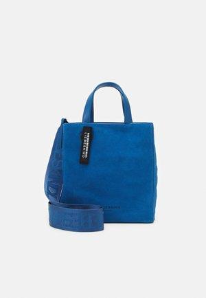 PAPER BAG S - Håndveske - retro denim blue