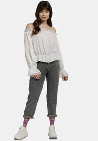 myMo - BLUSE - Blouse - weiss - 1