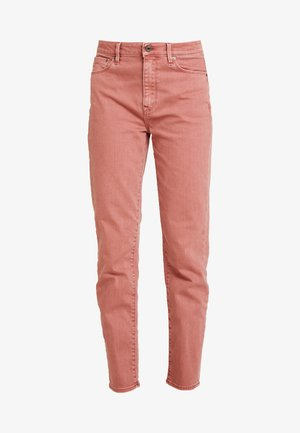 HIGH STRAIGHT ANKLE - Straight leg jeans - tea rose