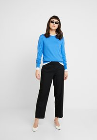 Banana Republic - CREW NECK SOLIDS - Long sleeved top - white - 1