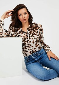 Guess - Button-down blouse - mehrfarbig, weiß - 2