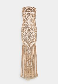 Nly by Nelly - FIERCE SEQUIN GOWN - Suknia balowa - champagne - 1