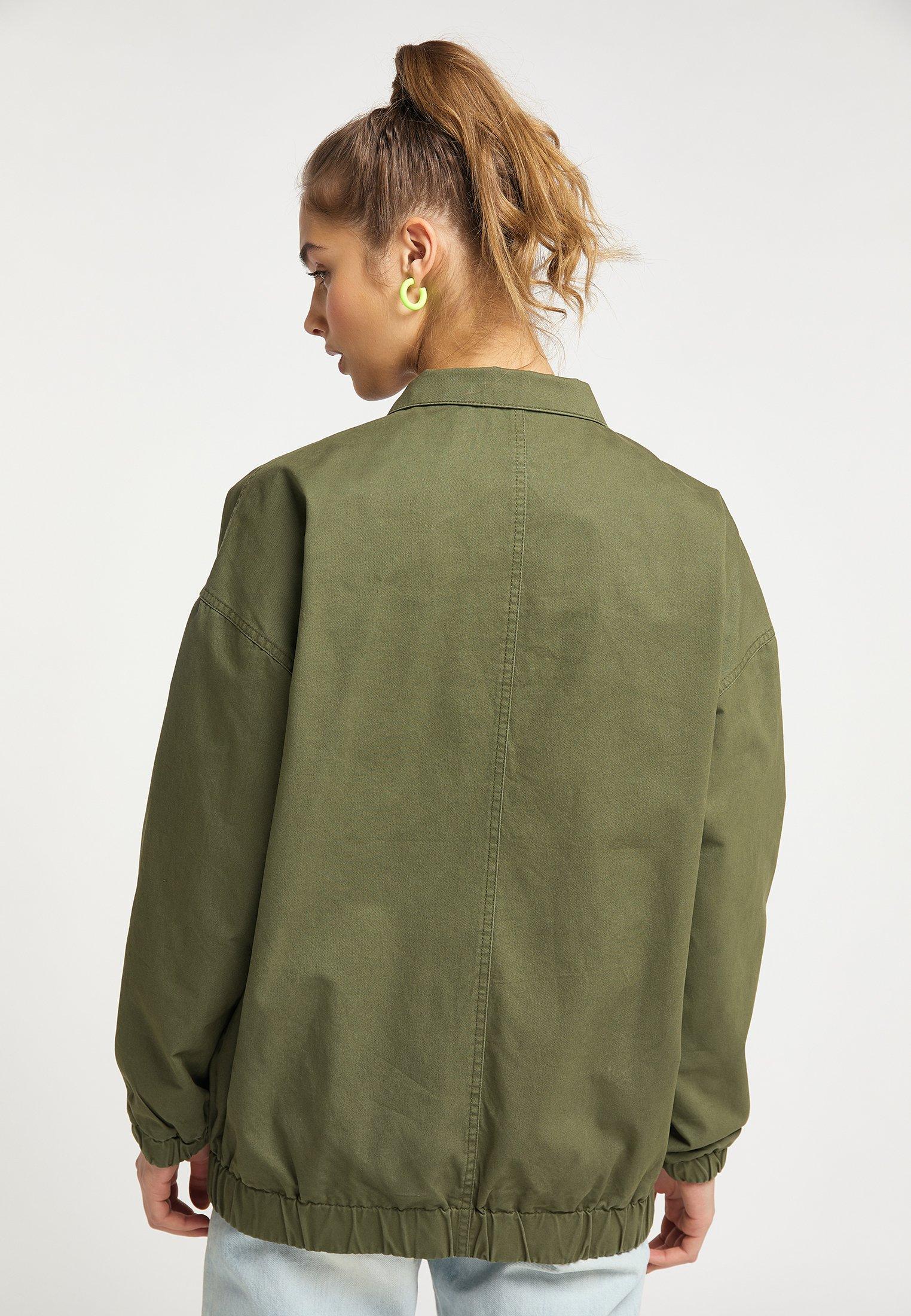 myMo Leichte Jacke military green/dunkelgrün