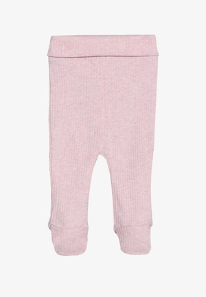 THE FOOTED BABY - Legíny - pink marle