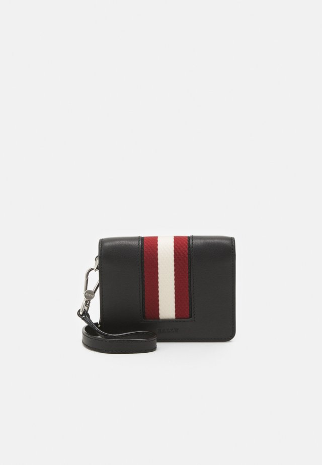 BRUNY UNISEX - Plånbok - black/red