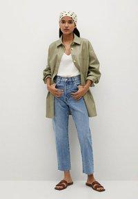 Mango - HAVANA - Straight leg jeans - middenblauw - 1