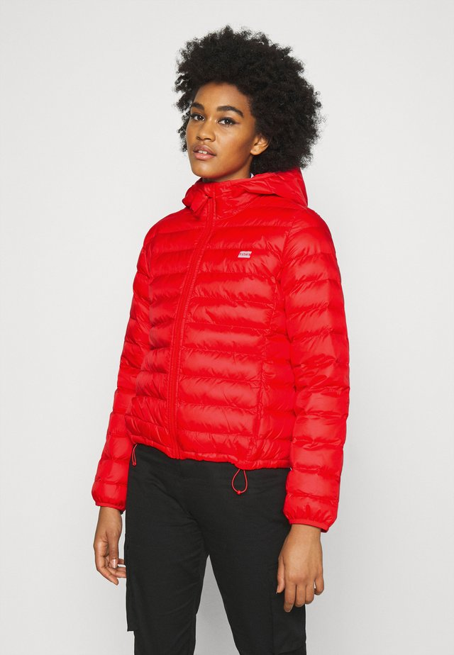 PACKABLE JACKET - Jas - poppy red