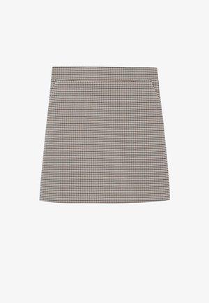 CHARLOTT - Mini skirt - hnědá