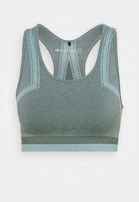 Even&Odd active - Light support sports bra - green - 0