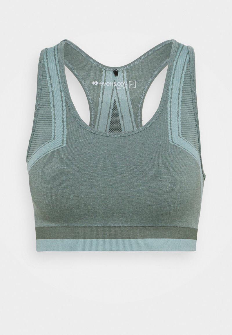 Even&Odd active - Light support sports bra - green