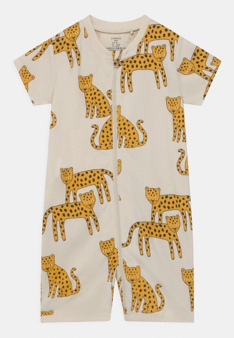 Lindex - LEO ANIMAL UNISEX - Pyjamas - light beige