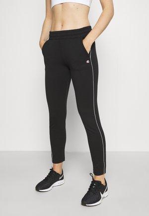 SLIM PANTS - Pantaloni sportivi - black