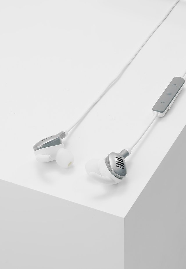 EVEREST WIRELESS IN EAR HEADPHONES - Koptelefoon - silver-coloured
