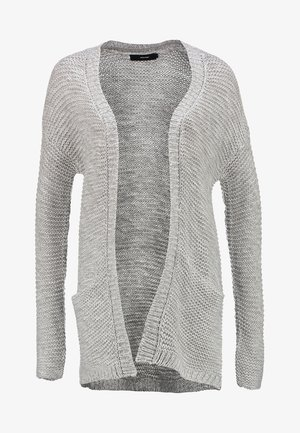 VMNO NAME - Strikjakke /Cardigans - light grey melange