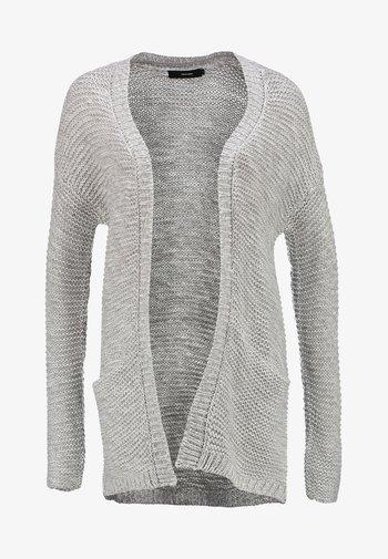 VMNO NAME CARDIGAN  - Cardigan - light grey melange