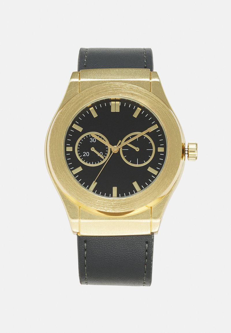 Burton Menswear London - STRAP WATCH - Rannekello - gold-coloured