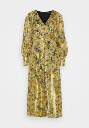 ROBE - Blousejurk - black/gold