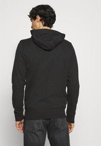 Schott - Zip-up hoodie - black - 2