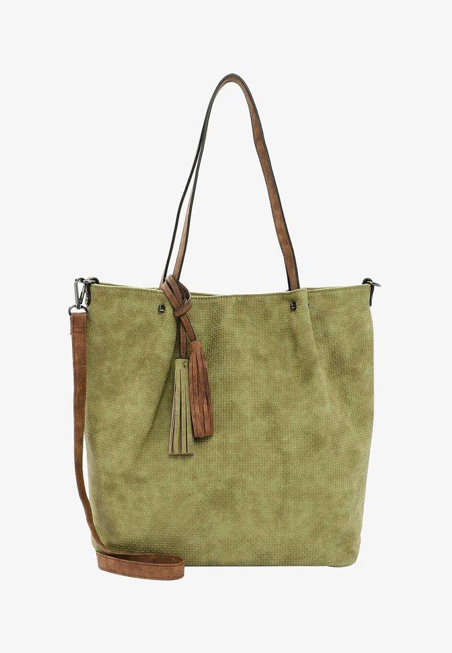 SURPRISE - Shopping bag - khaki cognac